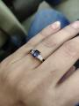 Прекрасное кольцо с багетным сапфиром!