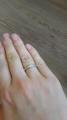 Классическое кольцо дорожка в 2 ряда
