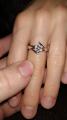 Замечательное кольцо для любимой девушки! лучший вариант подарка к юбилею!)