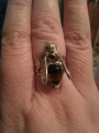 Эффектное кольцо пчёлка