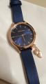 Часы женские с синим ремешком
