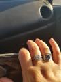 Набор из кольца и серёжек