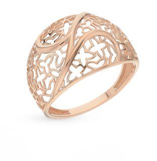 Золотое кольцо СОРОКИН 70059700*: красное и розовое золото 585 пробы — купить в Санкт-Петербурге, фото, артикул 62320 — интернет-магазин SUNLIGHT