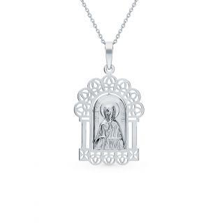 Серебряная подвеска AQUAMARINE 14738.5: белое серебро 925 пробы — купить в интернет-магазине SUNLIGHT, фото, артикул 121599