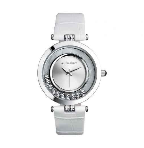 Купить женские часы с кожаным браслетом в Sunlight недорого, цены и фото. 10b3ffd5595