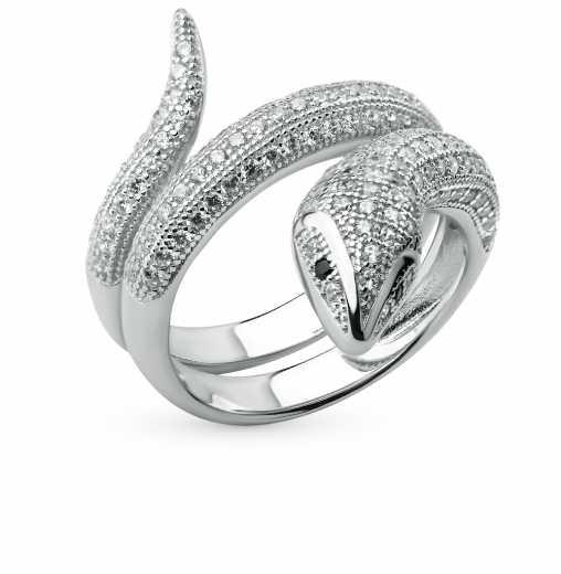 6dabc1ae757f Серебряные кольца со змеем — купить кольцо из серебра со змеей недорого в  интернет-магазине SUNLIGHT в Москве, выбрать серебряное кольцо змейку в  каталоге с ...