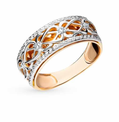 Кольца с бриллиантами — купить ювелирное бриллиантовое колечко недорого в  интернет-магазине SUNLIGHT в Москве, выбрать кольцо с бриллиантом классика  в ... 116c34b6bb0