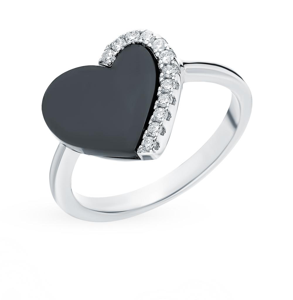 Серебряное кольцо с керамикой в Екатеринбурге