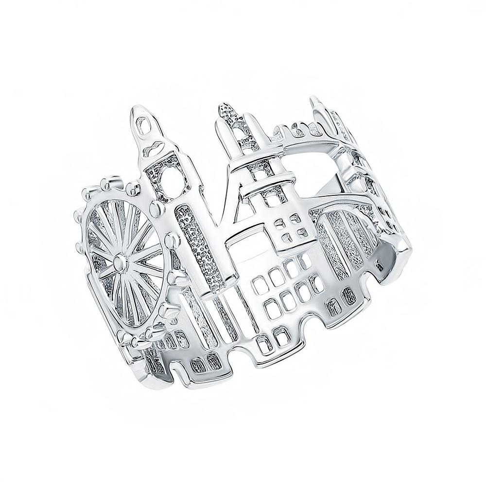 """Фото «Серебряное кольцо """"Лондон""""»"""