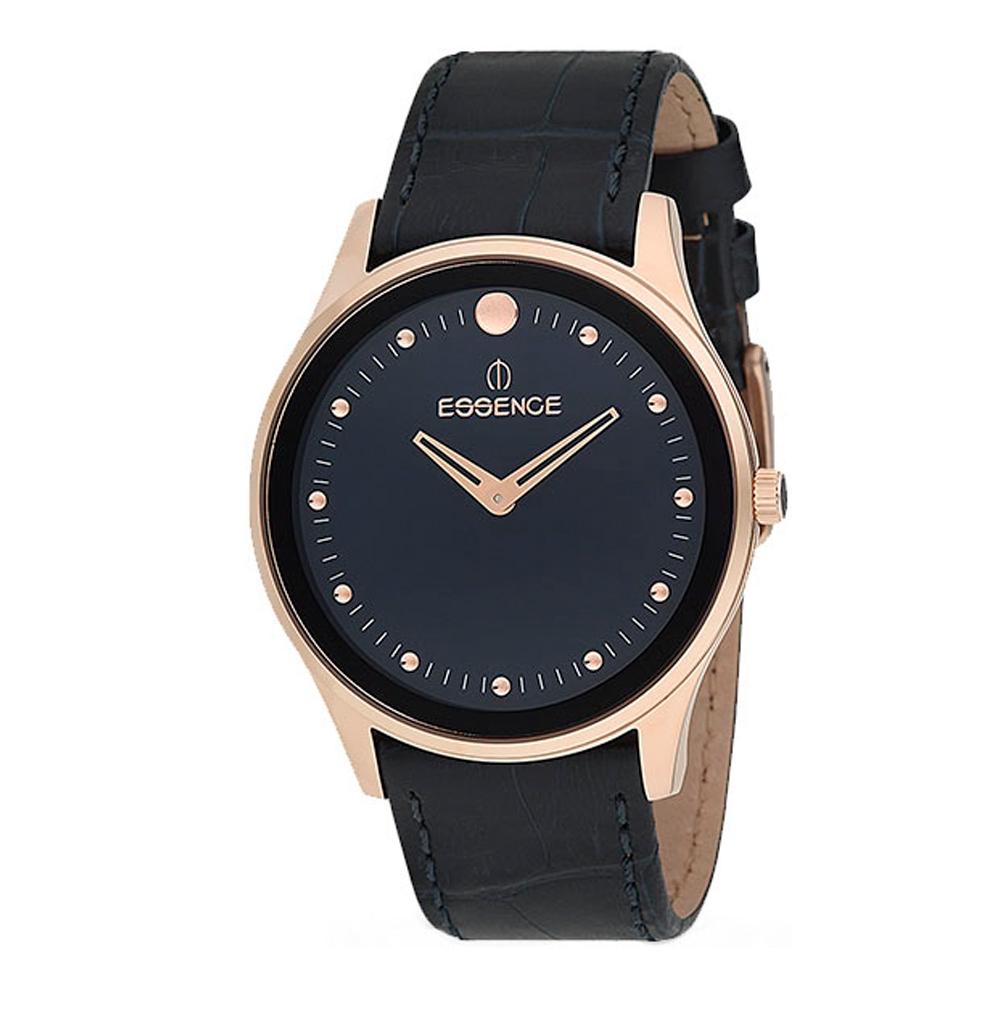 Мужские часы ES6425ME.499 на кожаном ремешке с минеральным стеклом