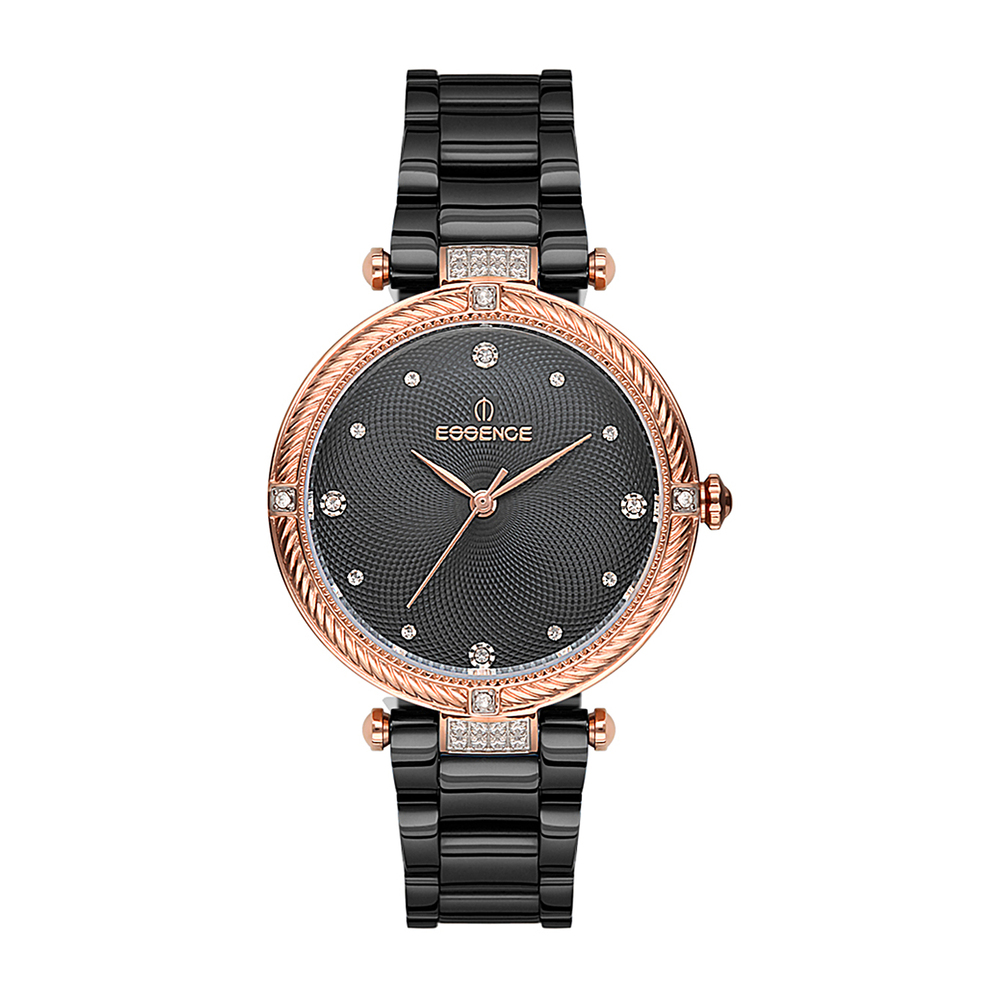 Женские  кварцевые часы ES6498FE.060 на стальном браслете с минеральным стеклом в Екатеринбурге