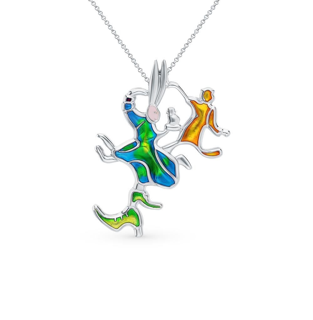Кулон-подвес «Танцующие зайцы»