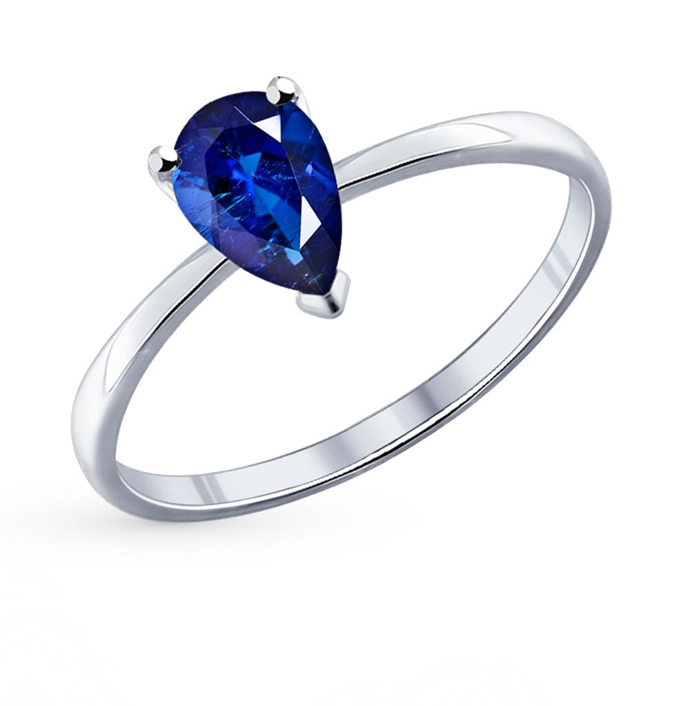 серебряное кольцо с фианитами SOKOLOV 94011744