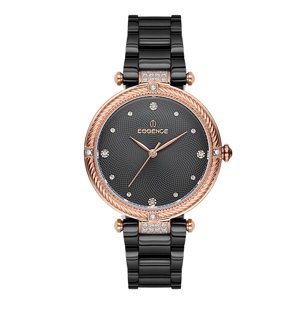 Фото «Женские  кварцевые часы ES6498FE.060 на стальном браслете с минеральным стеклом»