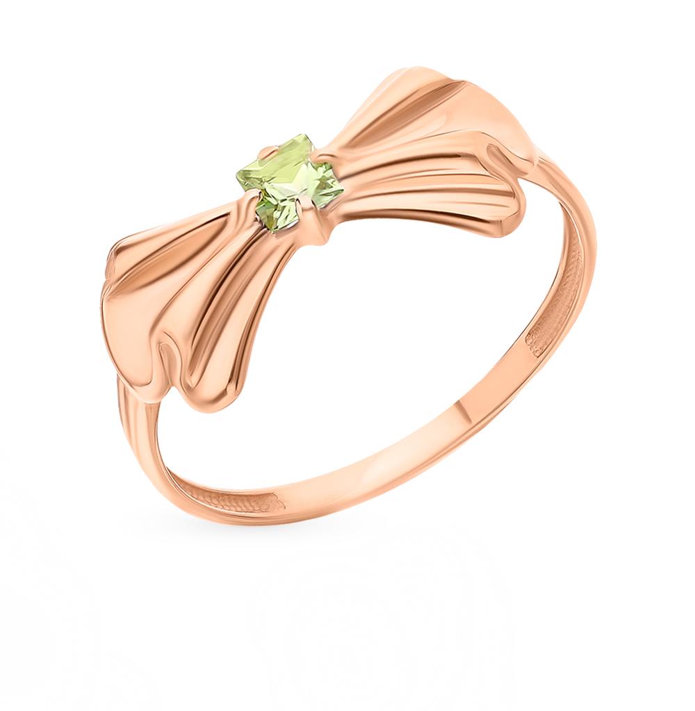 Золотое кольцо с хризолитом в Екатеринбурге