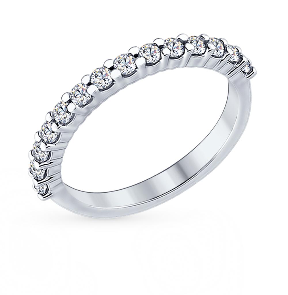 Фото «Серебряное кольцо с фианитами SOKOLOV 94012183»