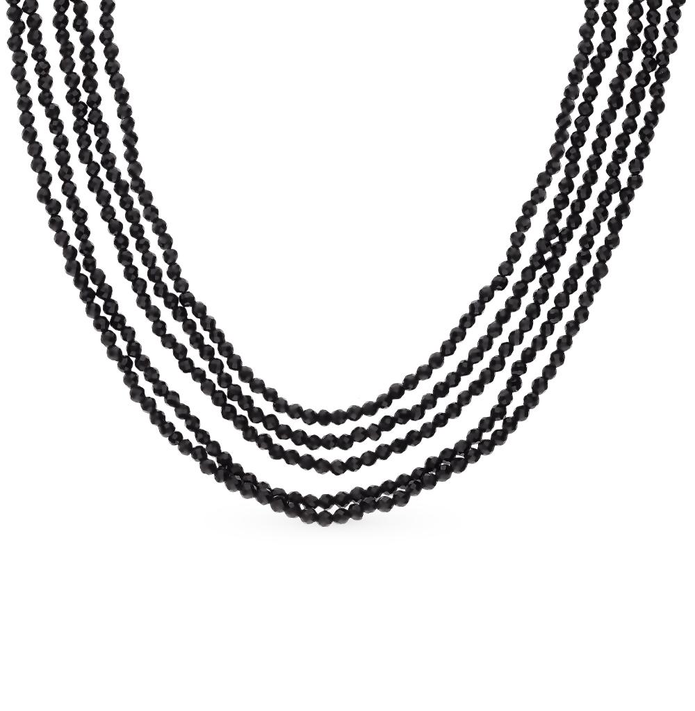 Серебряное шейное украшение со шпинелью в Екатеринбурге