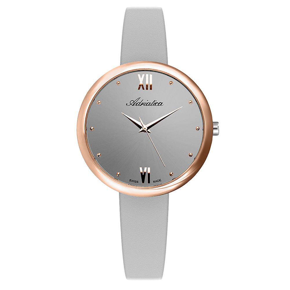 Фото «Женские часы A3632.9G87Q на кожаном ремешке с минеральным стеклом»