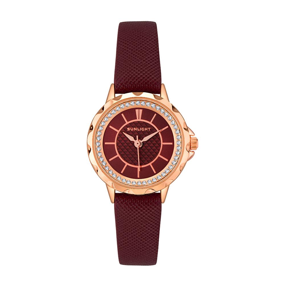 Фото «Женские часы на кожаном ремне»