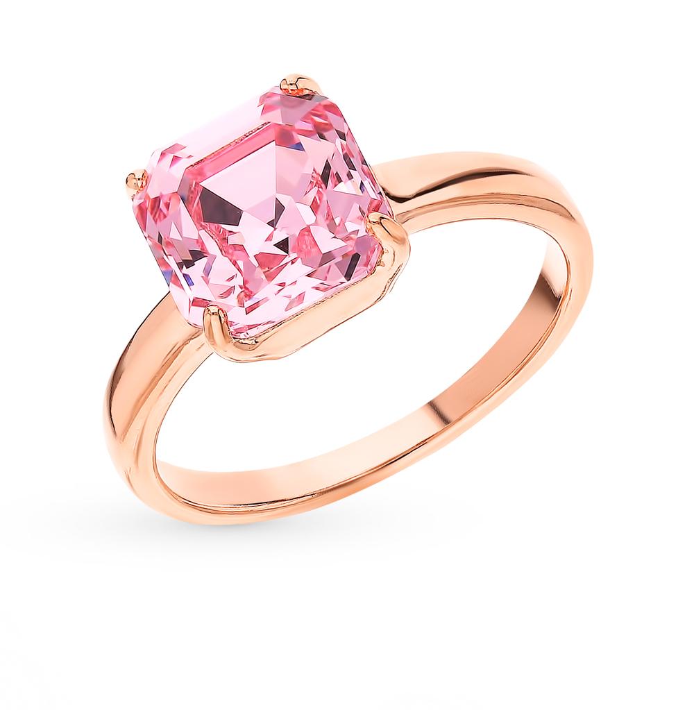 Серебряное кольцо с кристаллами swarovski SOKOLOV 93010834 в Екатеринбурге