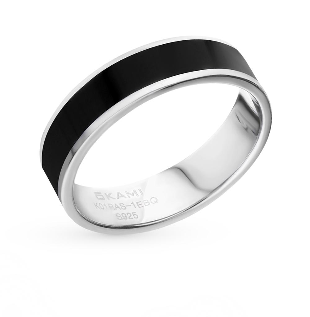 кольцо из серебра с серебром