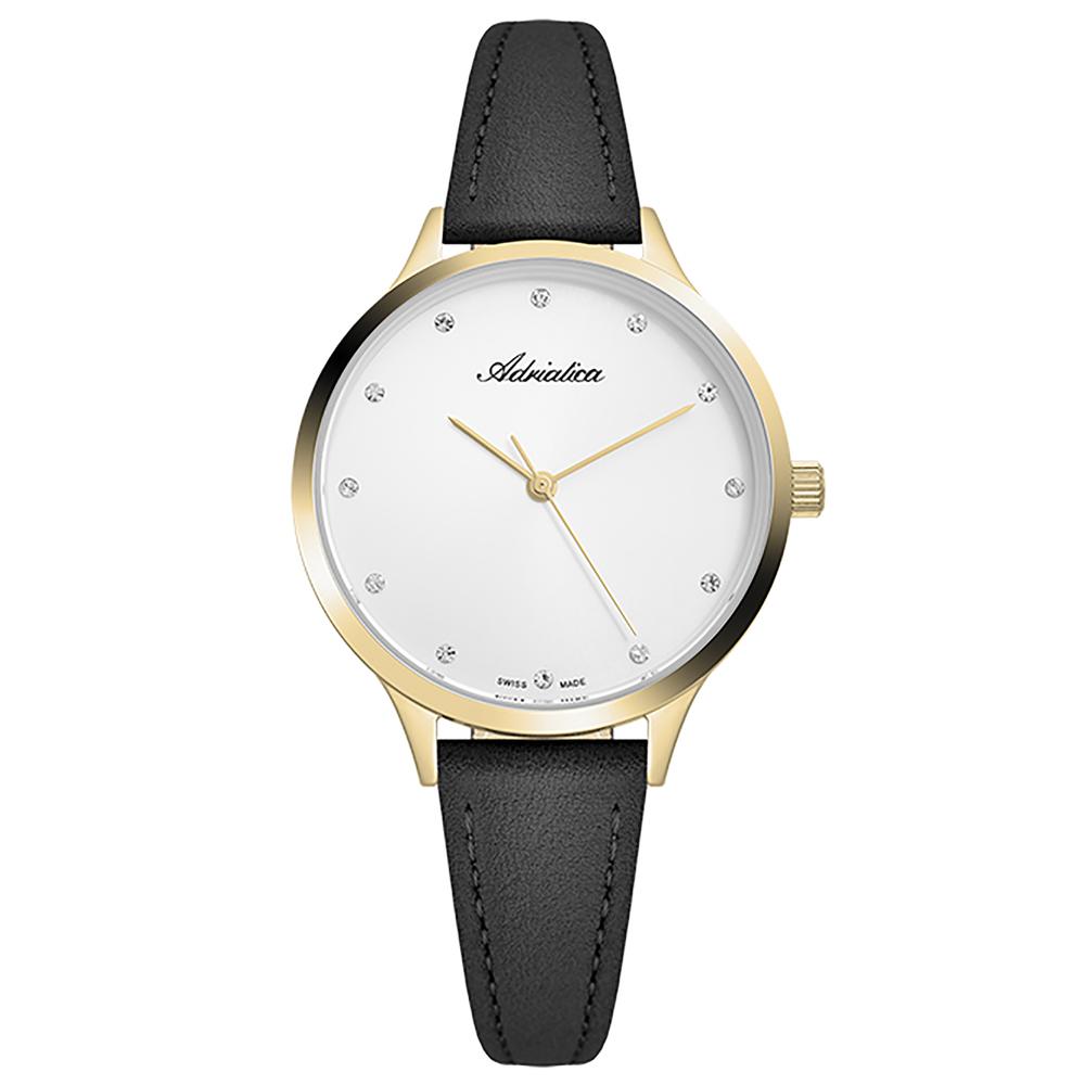 Фото «Женские часы A3572.1243Q на кожаном ремешке с минеральным стеклом»