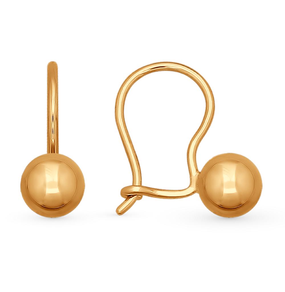 золотые серьги SOKOLOV 026752*