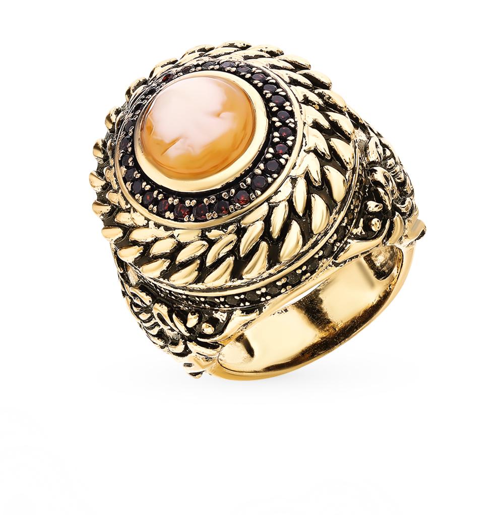 Фото «Стальное кольцо с фианитами и смолой ювелирной»