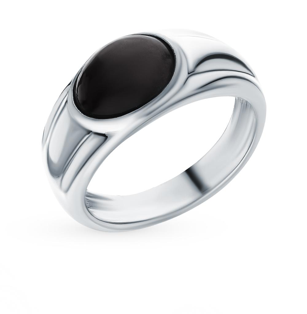 Фото «Серебряное кольцо с обсидианом»