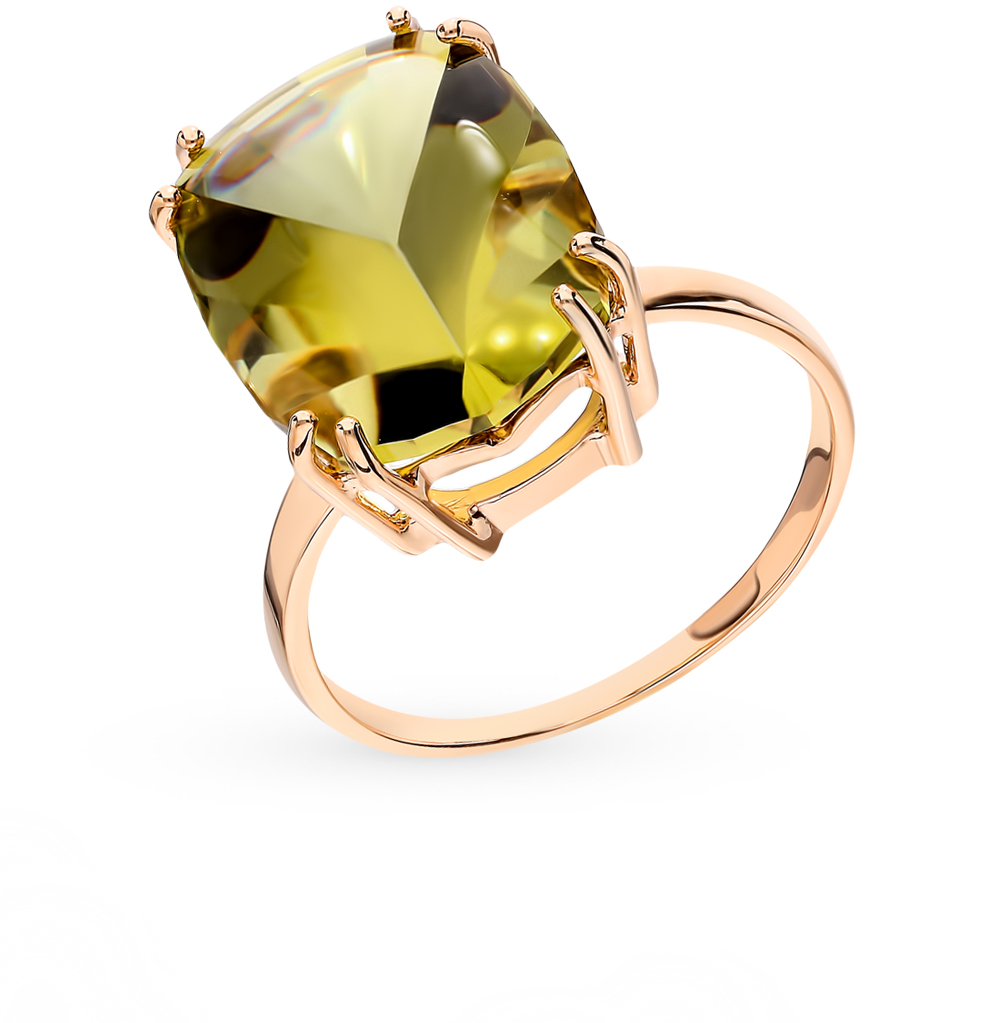 Фото «Золотое кольцо с кварцем»
