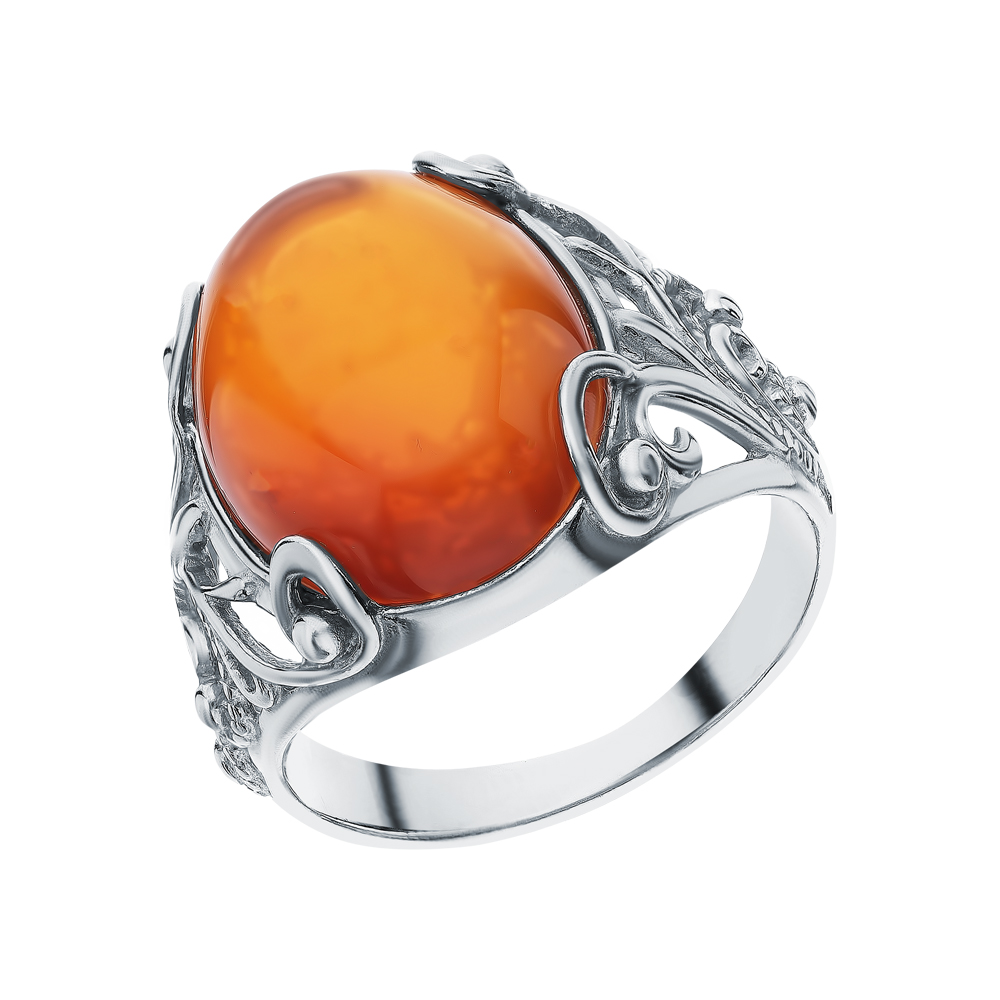 Фото «Серебряное кольцо с сердоликом»