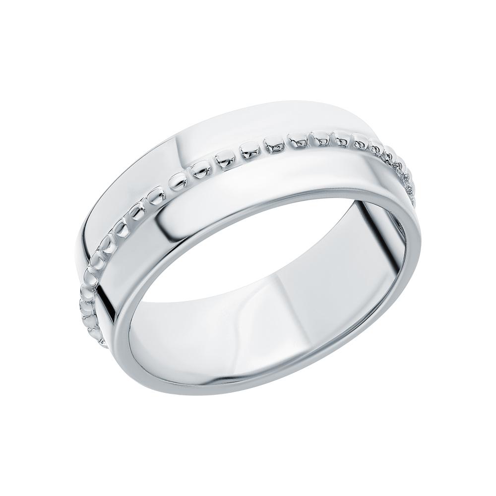 Серебряное кольцо SUNLIGHT: белое серебро 925 пробы — купить в интернет-магазине Санлайт, фото, артикул 247251