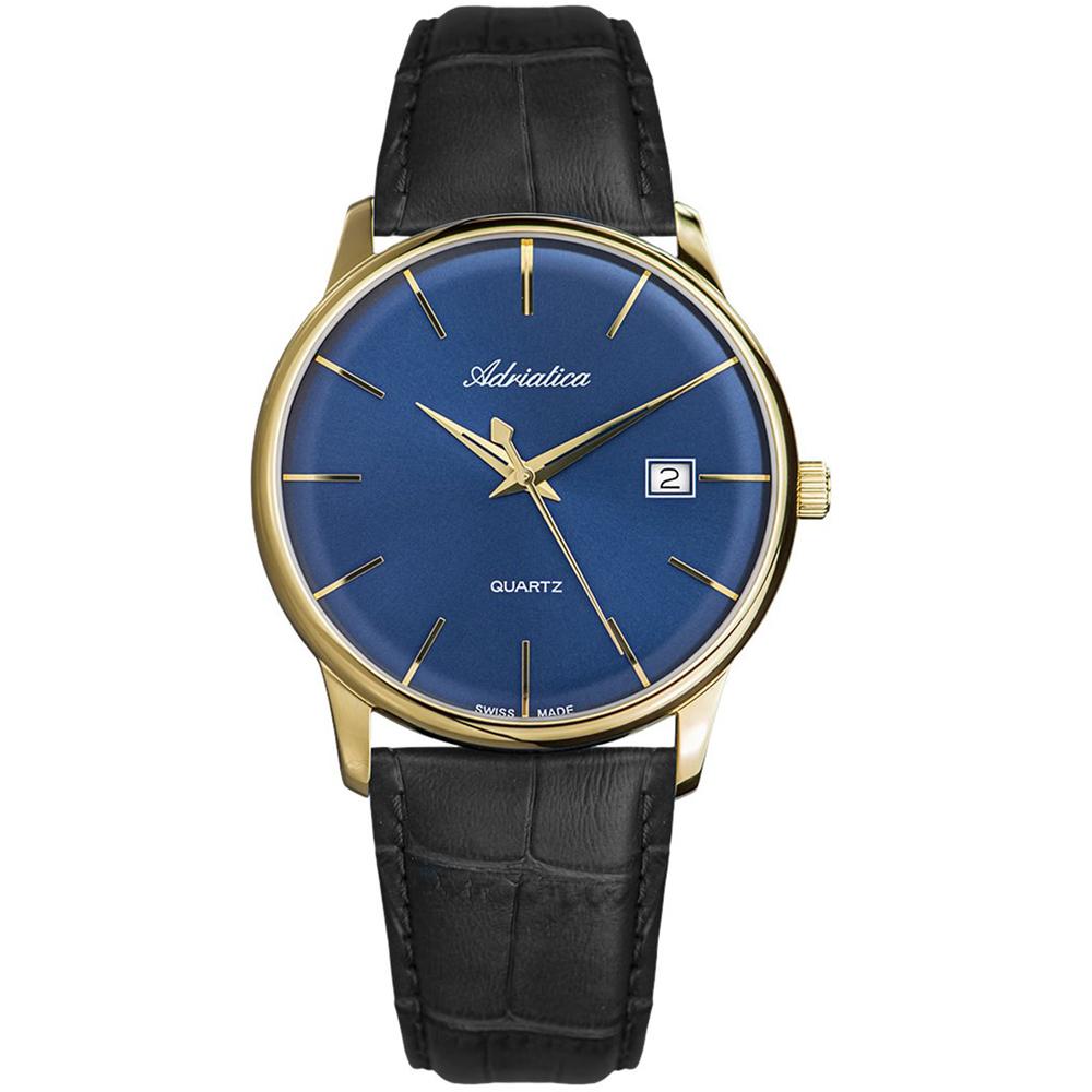 Фото «Мужские часы A8242.1215Q на кожаном ремешке с сапфировым стеклом»