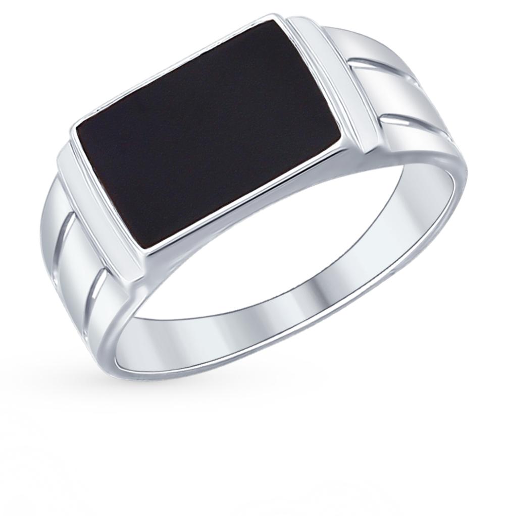 серебряное кольцо с эмалью SOKOLOV 94012004