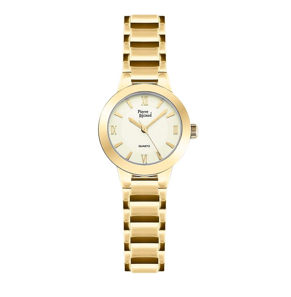 Фото «Женские кварцевые часы P21080.1161Q на стальном браслете с минеральным стеклом»