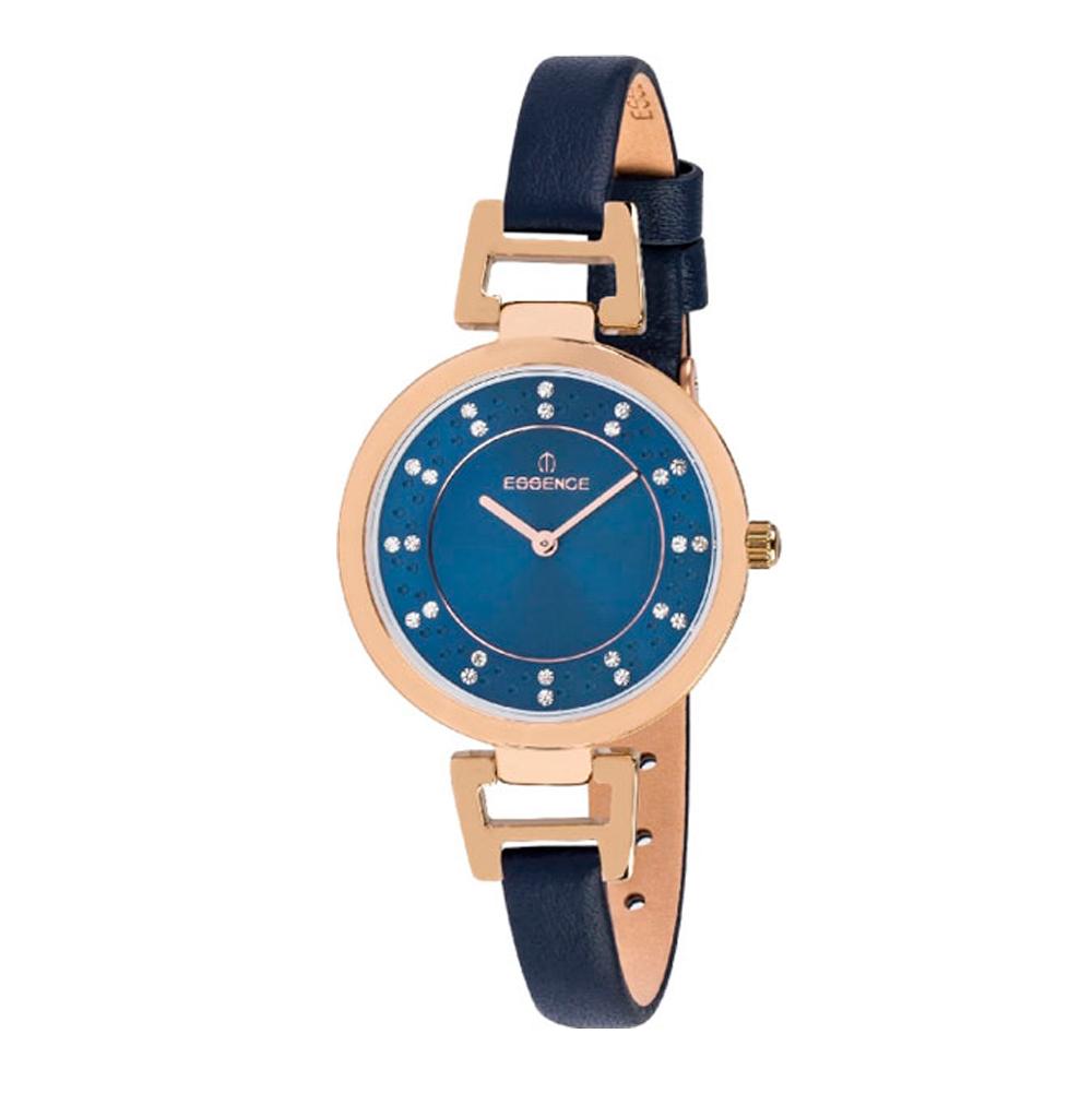 Фото «Женские часы ES6345FE.477 на кожаном ремешке с минеральным стеклом»