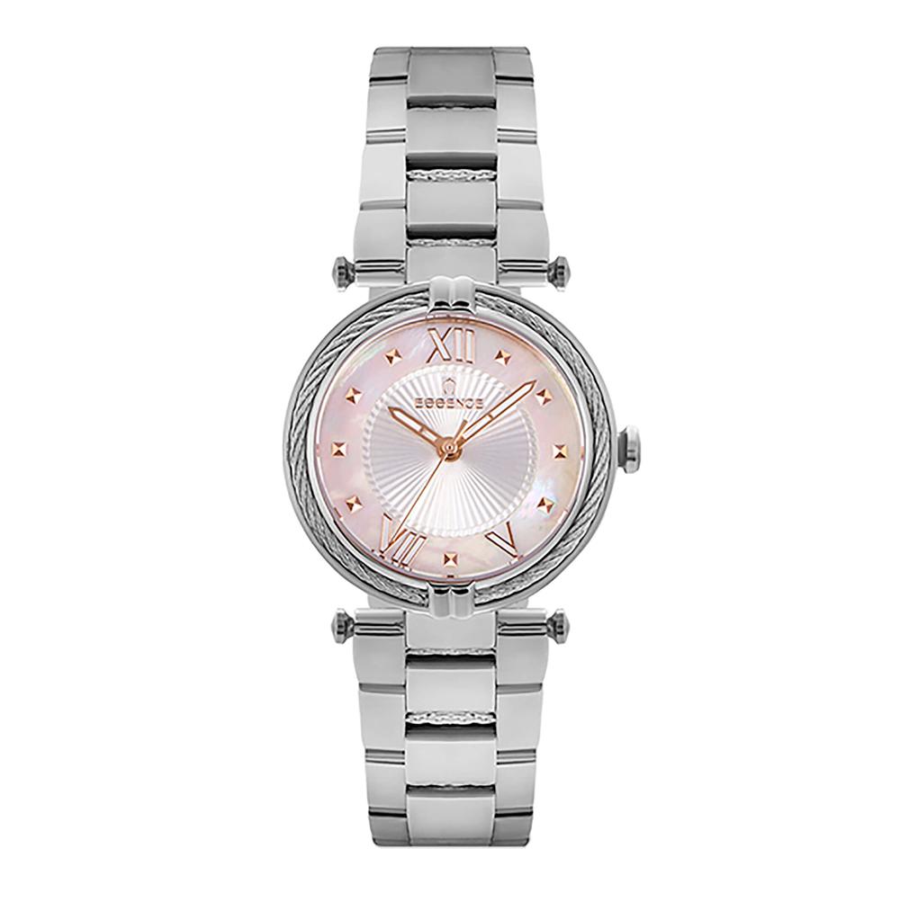Фото «Женские  кварцевые часы ES6607FE.320 на стальном браслете с минеральным стеклом»