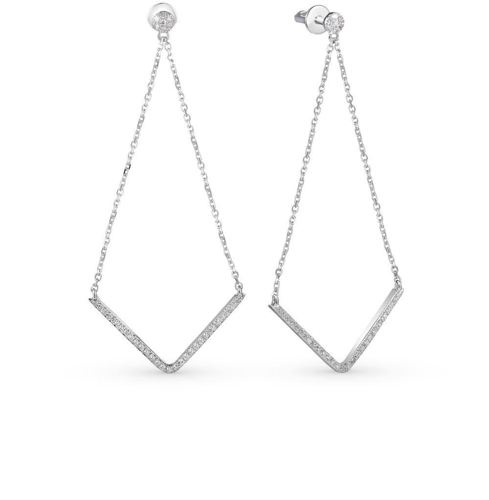 Фото «золотые серьги с бриллиантами»