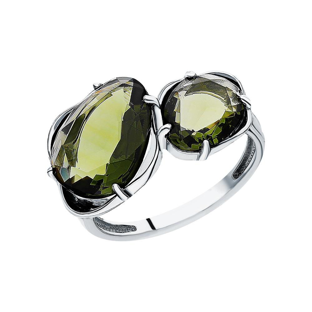 Фото «Серебряное кольцо с ювелирным стеклом»