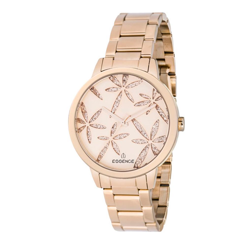 Женские часы ES6366FE.410 на стальном браслете с розовым PVD покрытием с минеральным стеклом в Санкт-Петербурге