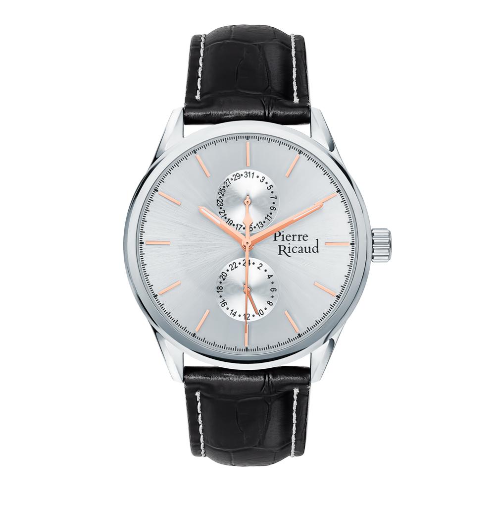 Фото «Мужские часы P97244.52R3QF на кожаном ремешке с минеральным стеклом»