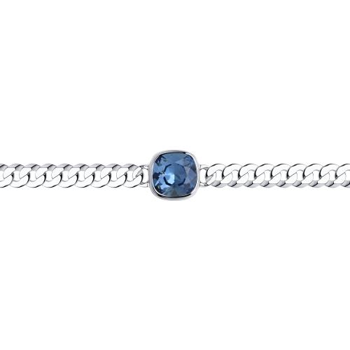 Серебряный браслет с кристаллами swarovski SOKOLOV 94050685 в Екатеринбурге