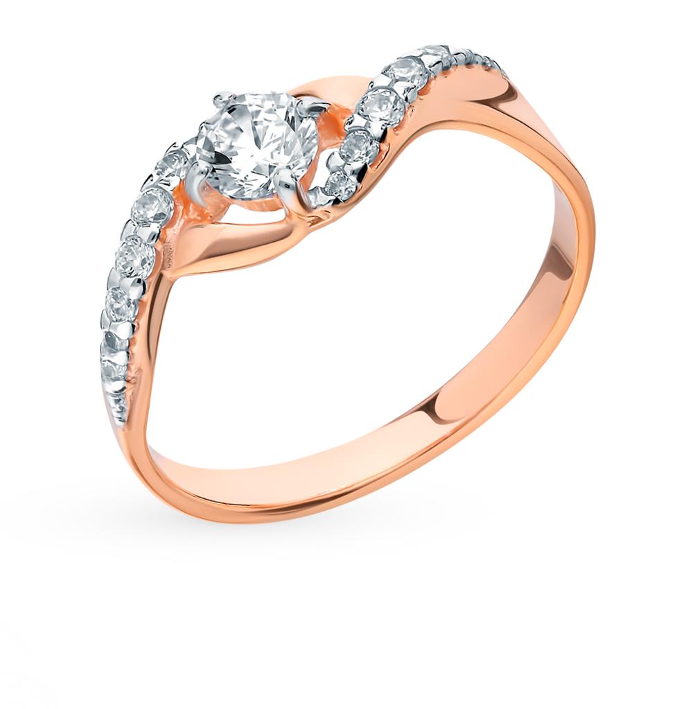 Фото «Серебряное кольцо с фианитами SOKOLOV 93010617»
