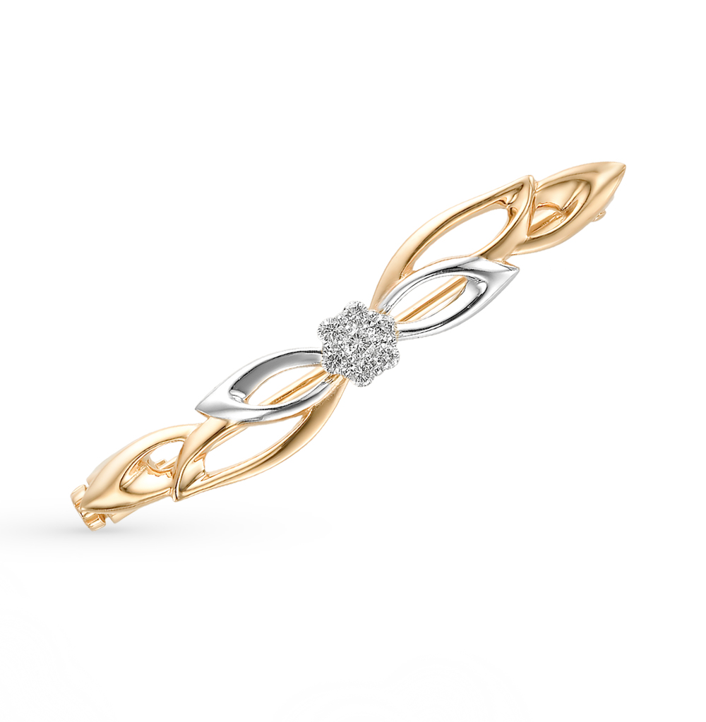 Фото «золотая брошь с бриллиантами»