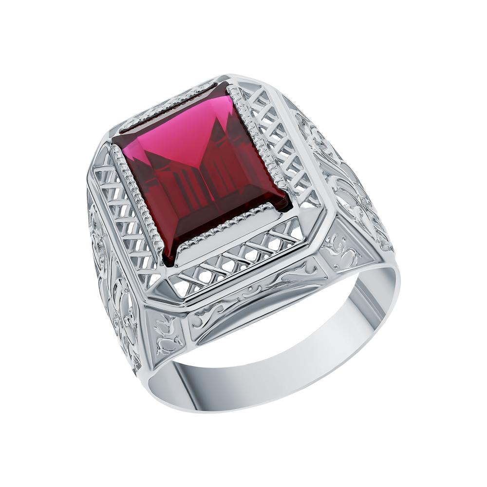 Фото «Серебряное кольцо с рубинами»