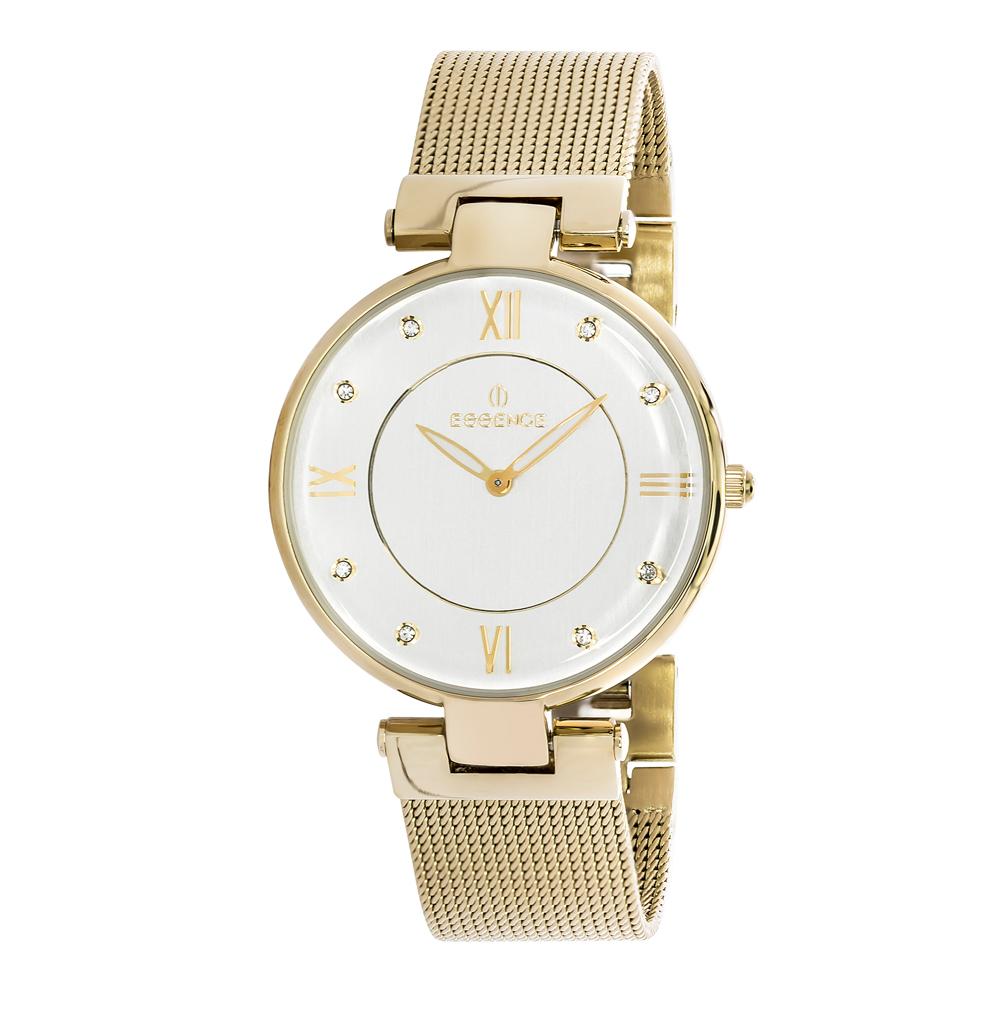Фото «Женские часы ES6376FE.130 на стальном браслете с PVD покрытием с минеральным стеклом»