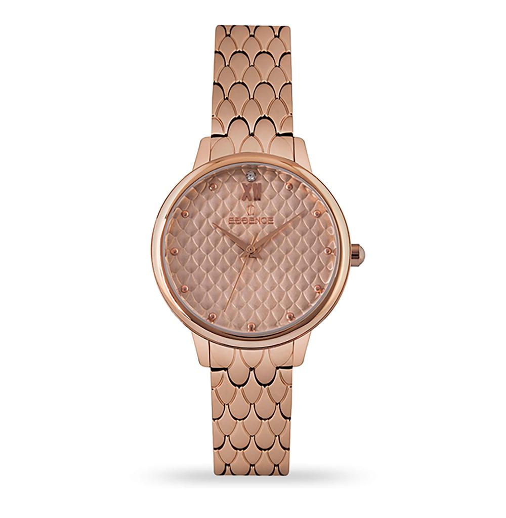 Женские  кварцевые часы ES6528FE.410 на стальном браслете с минеральным стеклом в Екатеринбурге