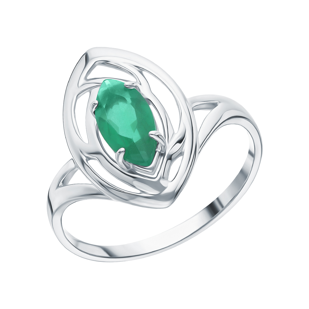 Серебряное кольцо с агатом в Санкт-Петербурге
