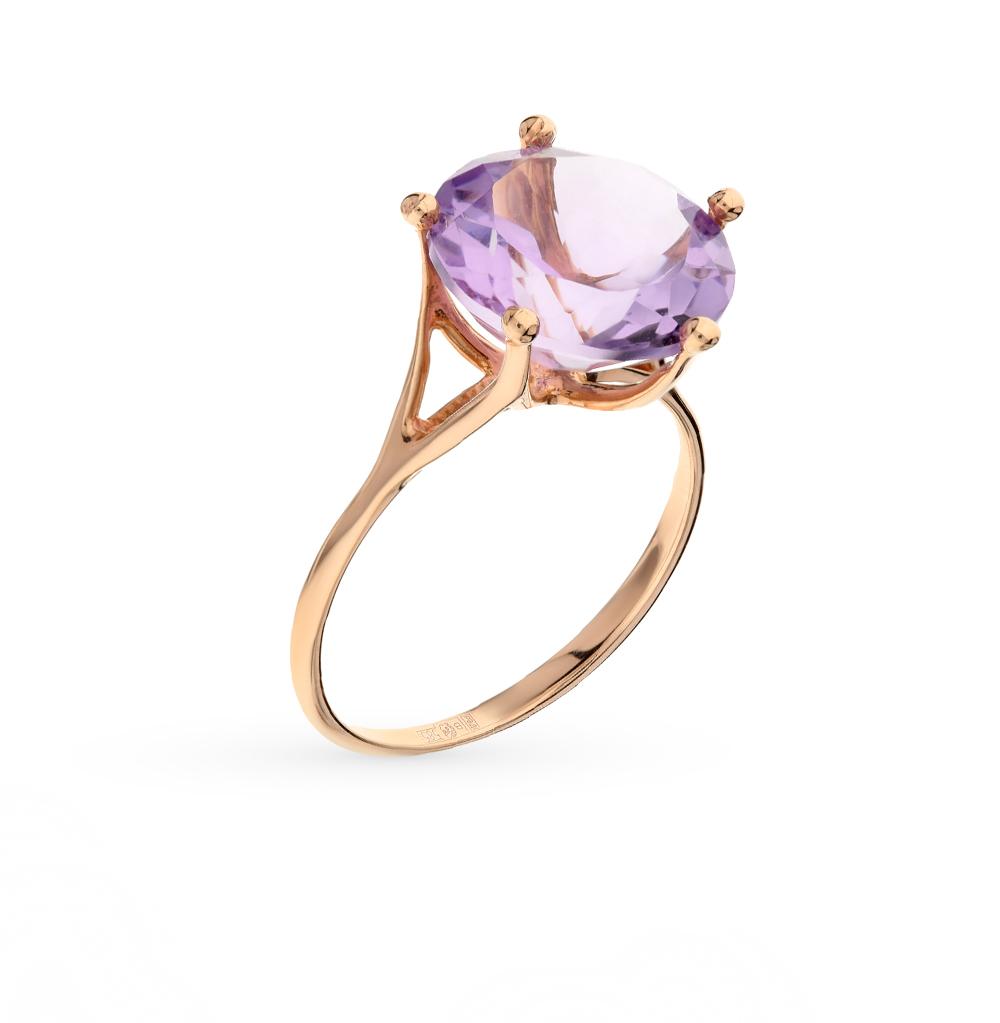 Фото «золото кольцо с аметистом»