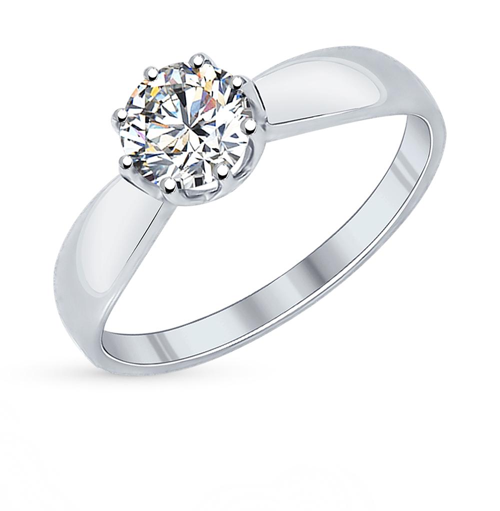Фото «Серебряное кольцо с фианитами SOKOLOV 89010029»